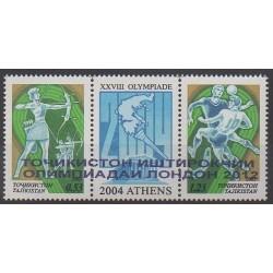 Tadjikistan - 2012 - No 450/451 - Jeux Olympiques d'été