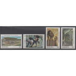 Jamaïque - 1983 - No 588/591 - Peinture
