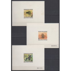 Cameroon - 1978 - Nb 621/622 - PA281 - Epreuves de luxe - Reptils