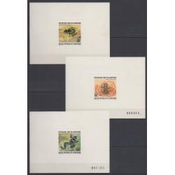 Cameroun - 1978 - No 621/622 - PA281 - Epreuves de luxe - Reptiles