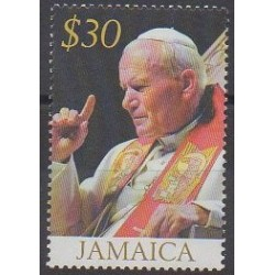 Jamaica - 2005 - Nb 1091 - Pope
