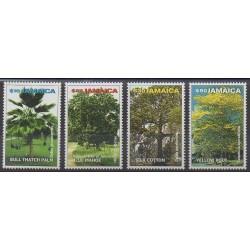 Jamaïque - 2000 - No 982/985 - Arbres