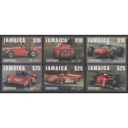 Jamaïque - 2000 - No 968/973 - Voitures
