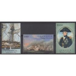 Jamaïque - 2005 - No 1092/1094 - Histoire militaire
