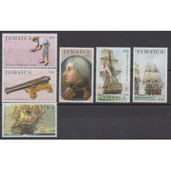 Jamaïque - 2005 - No 1084/1089 - Histoire militaire