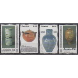 Jamaïque - 1993 - No 822/825 - Art