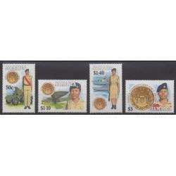 Jamaïque - 1993 - No 828/831 - Histoire militaire