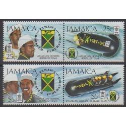 Jamaïque - 1988 - No 720/723 - Jeux olympiques d'hiver