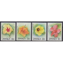 Jamaïque - 1987 - No 695/698 - Fleurs