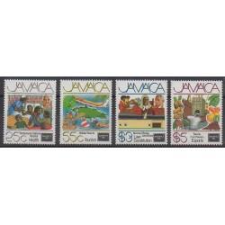Jamaïque - 1986 - No 645/648 - Philatélie