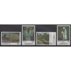 Jamaïque - 1985 - No 632/635 - Peinture