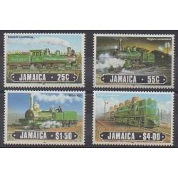 Jamaïque - 1985 - No 628/631 - Chemins de fer