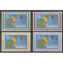 Jamaïque - 1985 - No 624/627 - Scoutisme