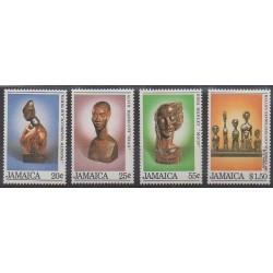Jamaïque - 1984 - No 612/615 - Art