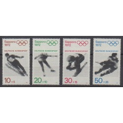 West Germany (FRG) - 1971 - Nb 544/547 - Winter Olympics