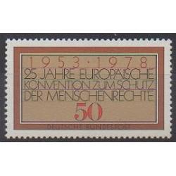 Allemagne occidentale (RFA) - 1978 - No 826 - Droits de l'Homme
