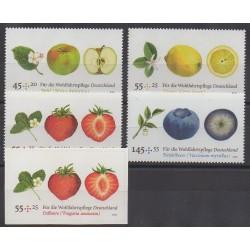 Allemagne - 2010 - No 2594/2598 - Fruits ou légumes
