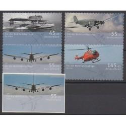 Allemagne - 2008 - No 2497/2501 - Aviation - Hélicoptères