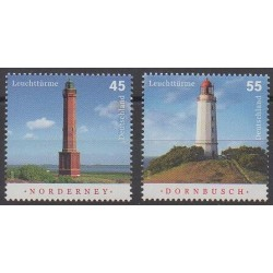 Germany - 2009 - Nb 2567/2568 - Lighthouses
