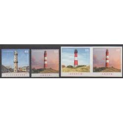 Germany - 2008 - Nb 2502/2505 - Lighthouses