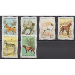Tajikistan - 2006 - Nb 342/347 - Dogs