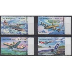 Cocos (Island) - 2017 - Nb 506/509 - Planes
