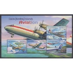 Cocos (Island) - 2017 - Nb BF22 - Planes
