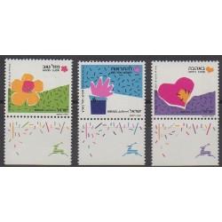 Israel - 1989 - Nb 1091/1093