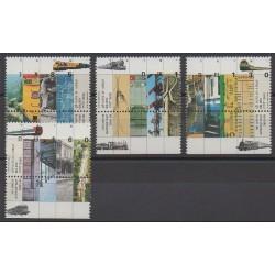 Israël - 1992 - No 1170/1173 - Chemins de fer