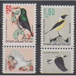 Israël - 1993 - No 1202/1203 - Oiseaux