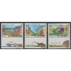 Israël - 1993 - No 1197/1199 - Parcs et jardins