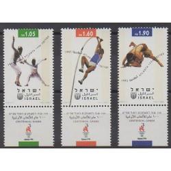 Israël - 1996 - No 1332/1334 - Jeux Olympiques d'été