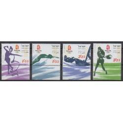 Israël - 2008 - No 1924/1927 - Jeux Olympiques d'été