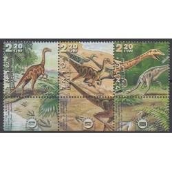 Israël - 2000 - No 1507/1509 - Animaux préhistoriques