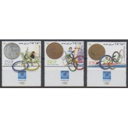 Israel - 2004 - Nb 1712/1714 - Summer Olympics - Coins, Banknotes Or Medals