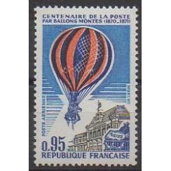 France - Poste aérienne - 1971 - No PA45 - Ballons - Dirigeables - Service postal