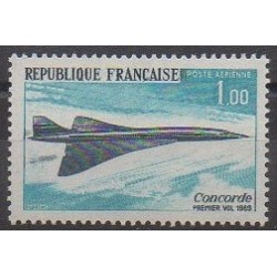 France - Poste aérienne - 1969 - No PA43 - Aviation