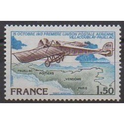 France - Airmail - 1978 - Nb PA51 - Planes - Postal Service