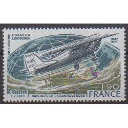 France - Airmail - 1977 - Nb PA50 - Planes