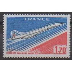 France - Poste aérienne - 1976 - No PA49 - Aviation