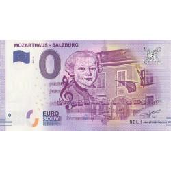 Euro banknote memory - AT - Mozarthaus - Salzburg - 2017-2