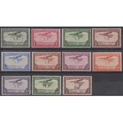 Belgium congo - 1934 - Nb PA7/PA17