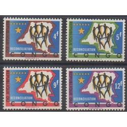 Belgium congo - republic - 1963 - Nb 503/506