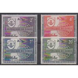 Congo belge - République - 1963 - No 520/523 - Droits de l'Homme