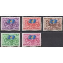 Congo belge - République - 1961 - No 415/419 - Histoire