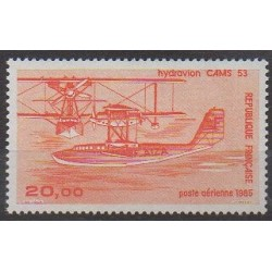 France - Poste aérienne - 1985 - No PA58 - Aviation
