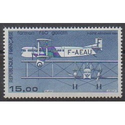 France - Airmail - 1984 - Nb PA57 - Planes