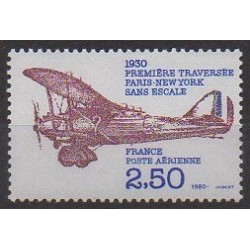 France - Airmail - 1980 - Nb PA53 - Planes