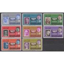 Emirats arabes unis - Sharjah - 1966 - No 141/148 - Célébrités