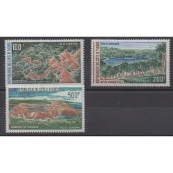Côte d'Ivoire - 1972 - No PA57/PA59 - Sites